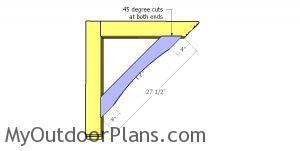 Diagonal Braces