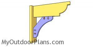 Diagonal brace