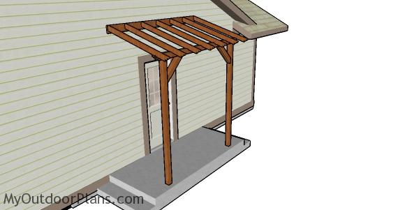 Front Porch Pergola Plans