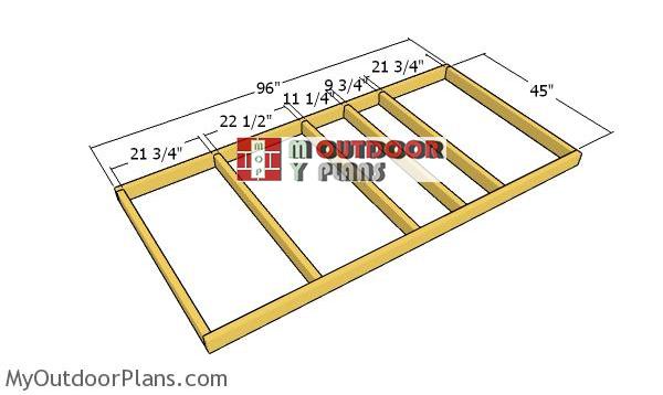 Floor-frame-dog-house