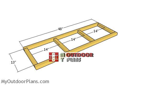 Floor-frame-for-nesting-box