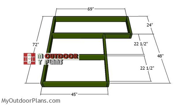 Floor-frame