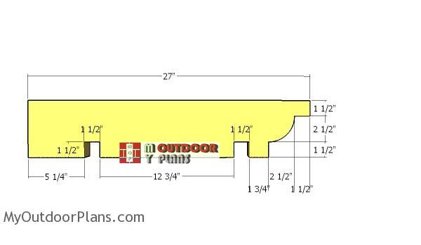 Garage-pergola-rafters
