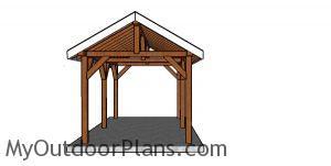 How to build a 10x16 pavilion