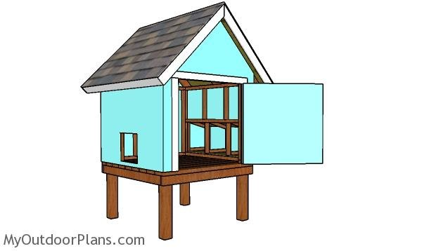 How to build a 4x4 chicken coop