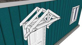 Door Canopy Plans