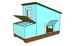 Free Chicken Coop with Run Plans