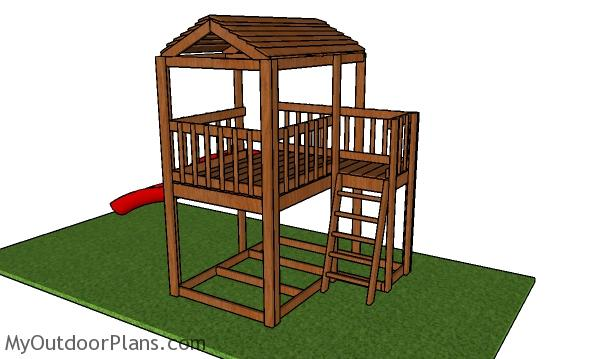 Outdoor Fort Plans