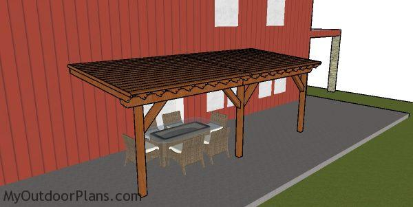 Patio Cover Plans Myoutdoorplans Free Woodworking And