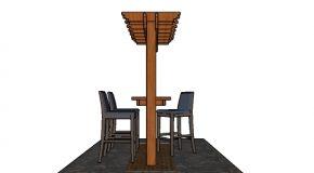 Pergola Bar Plans