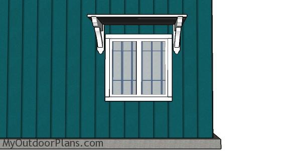 Window pergola plans