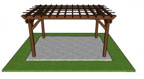 10×14 Pergola Plans – Free PDF Download