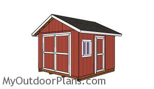 12x12 Shed Plans -Free PDF Download