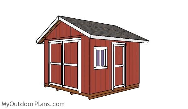 12x12 Shed Plans - Free PDF Download