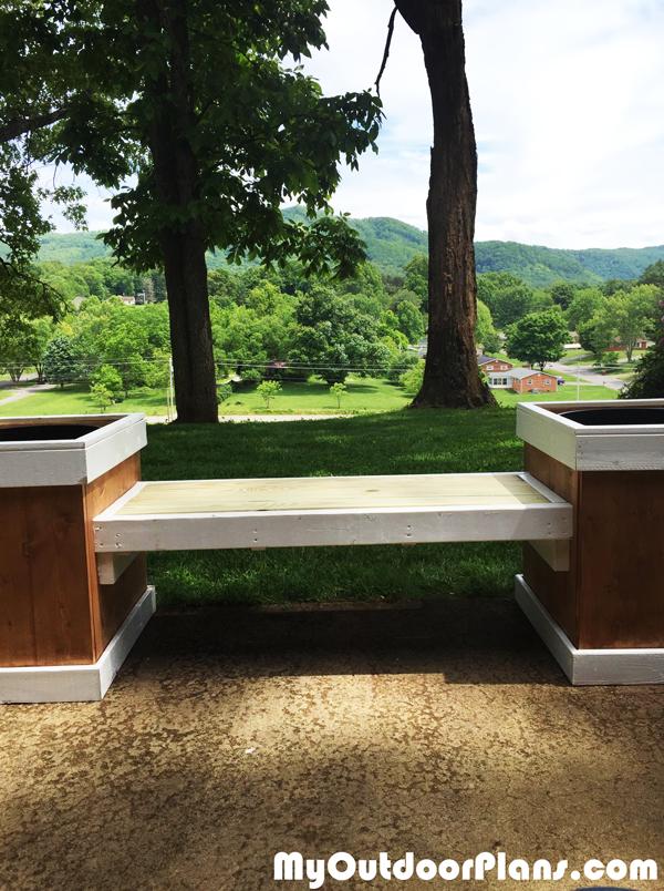 Build-a-planter-bench