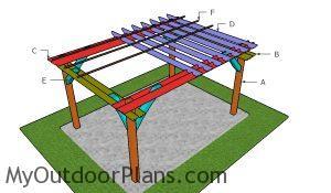 Building a 10x14 pergola