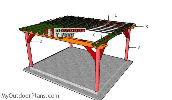 Building-a-14x16-pergola