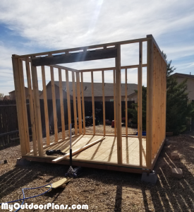 DIY-10x10-Shed---Wall-Frames