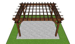 DIY 12x14 Pergola