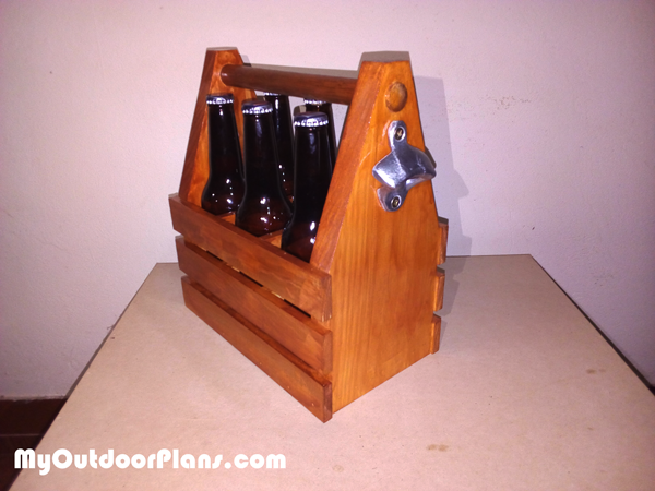 DIY 6 Pack Beer Caddy