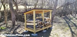 DIY-Firewood-Shed-Plans