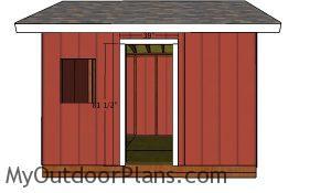Door jambs - 12x12 Shed