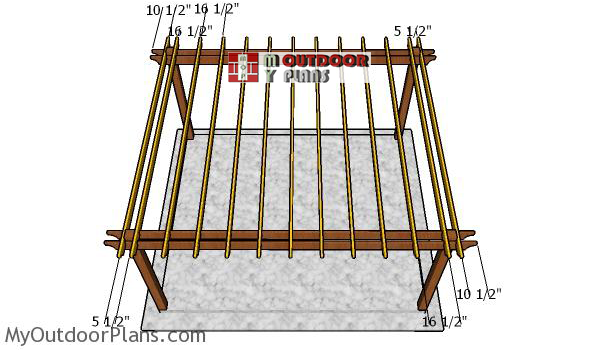 Fitting-the-rafters-to-the-large-pergola