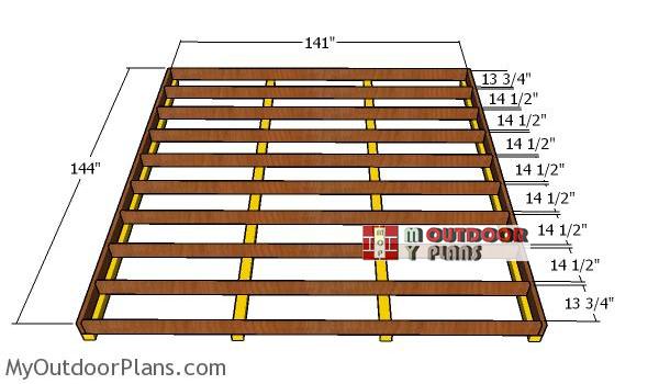 Floor-frame-12x12-shed
