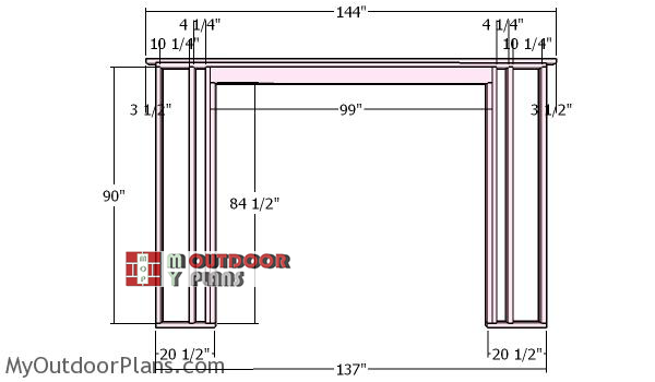 Front-wall-frame-with-double-doors