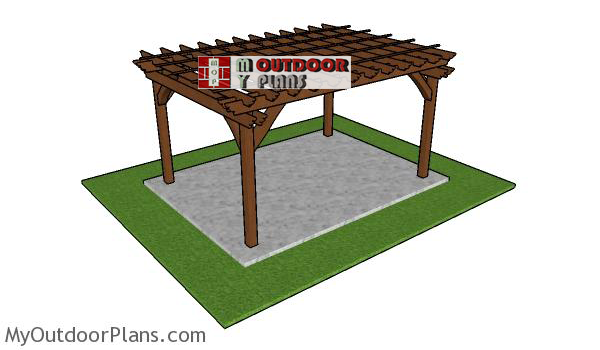 How-to-build-a-10x14-pergola-free-standing