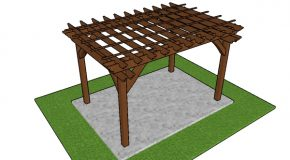 8×12 Pergola Plans – Free PDF Download
