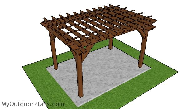 8x12 Pergola Plans - Free PDF Download