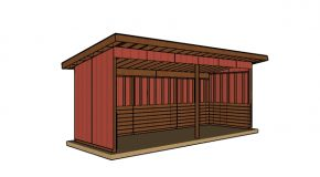 8×24 Run In Shed Plans – Free PDF Download