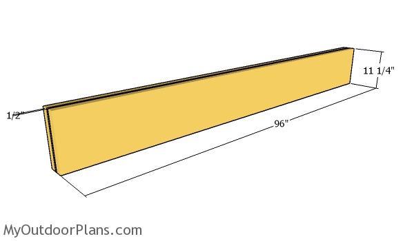 Top beam