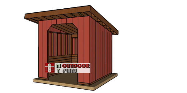 10x10-run-in-shed-plans