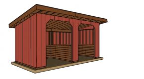 10×20 Run In Shed Plans – Free PDF Download