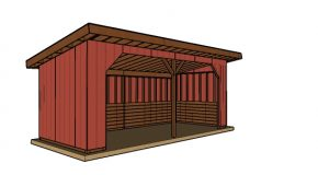 10×24 Run In Shed Plans – PDF Download