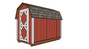 6×10 Gambrel Shed Plans