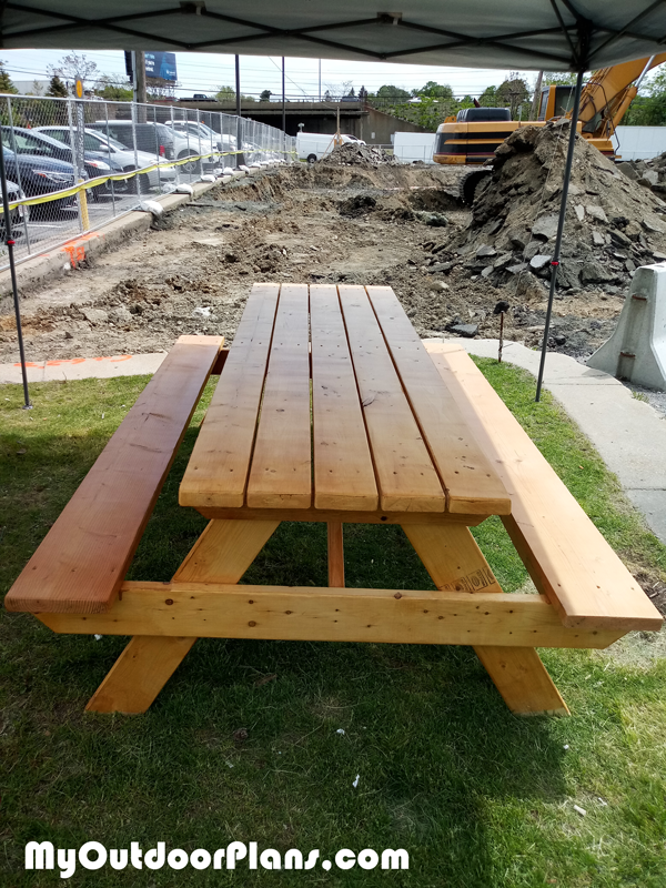 8' Picnic Table - DIY Project