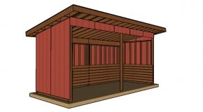 8×20 Run In Shed Plans – Free PDF Download