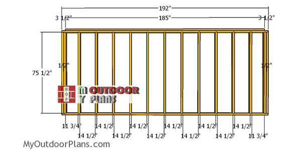 Back-wall-frame-for-5x16-shed
