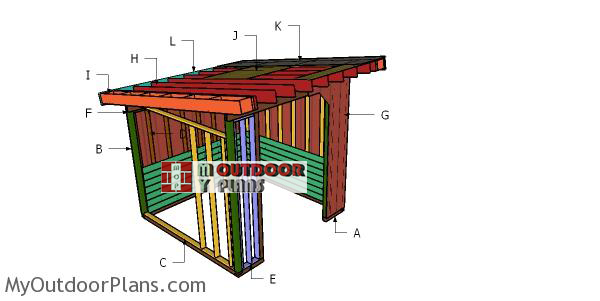 Building-a-10x10-cattle-shelter