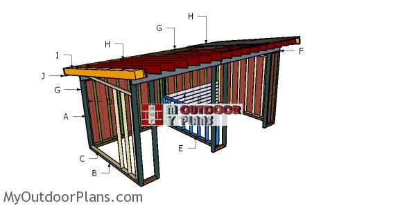 Building-a-10x20-run-in-shed