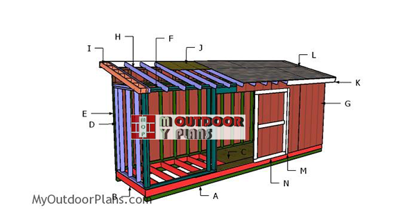 Building-a-5x16-lean-to-shed