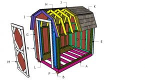 6×10 Gambrel Shed Roof Plans