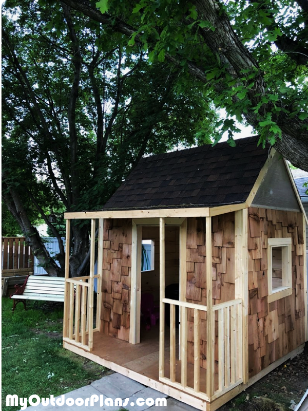 DIY Children's Playhouse