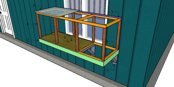 Building a window catio