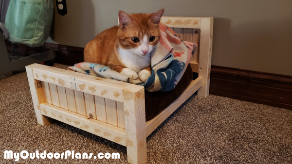 DIY Farmhouse Cat Bed