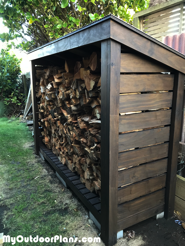 DIY Stylish Wood Shed