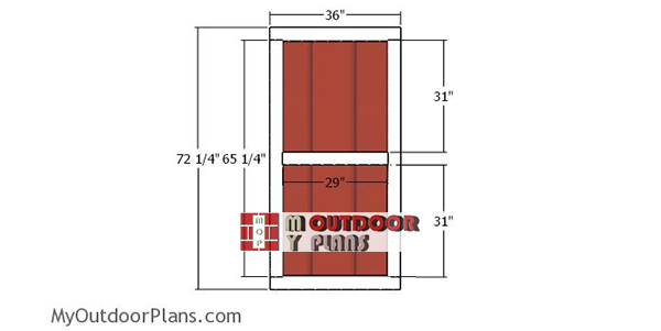 Door-frame-for-5x8-lean-to-shed
